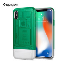 เคส iPhone X SPIGEN Case Limited Edition Classic C1 - Sage (Green)