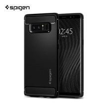 เคส Samsung Galaxy Note 8 SPIGEN Rugged Armor - Matte Black