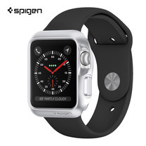 เคส Apple Watch Series 3/2/1 (42mm.) SPIGEN Case Slim Armor - Silver