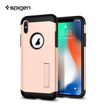 เคส iPhone X SPIGEN Case Slim Armor - Blush Gold