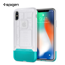 เคส iPhone X SPIGEN Case Limited Edition Classic C1 - Snow (White)