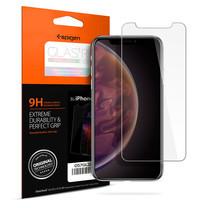 SPIGEN ฟิล์มกระจก iPhone XS Screen Protector GLAS.tR SLIM HD