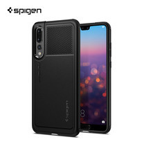 เคส Huawei P20 Pro SPIGEN Case Marked Armor - Black