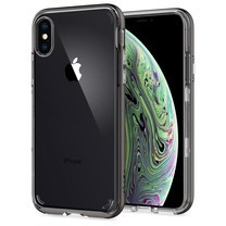 SPIGEN Apple iPhone XS Case Neo Hybrid Crystal : Gunmetal