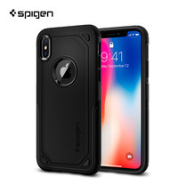 เคส iPhone X SPIGEN Case Hybrid Armor - Black