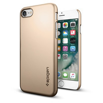 SPIGEN Case Apple iPhnoe 7 Case Thin Fit - Champagne Gold