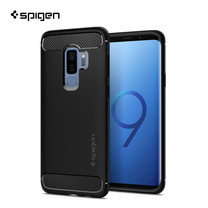 เคส Galaxy S9+ SPIGEN Rugged Armor - Matte Black