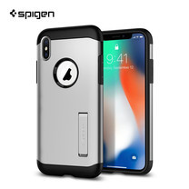 เคส iPhone X SPIGEN Case Slim Armor - Satin Silver