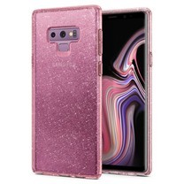 SPIGEN Case Samsung Galaxy Note 9 Case Liquid Crystal Glitter - Rose Quartz