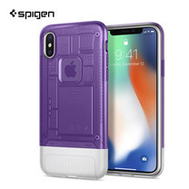 เคส iPhone X SPIGEN Case Limited Edition Classic C1 - Grape (Violet)
