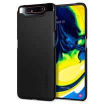SPIGEN เคส Samsung Galaxy A80 Case Thin Fit : Black