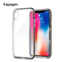 เคส iPhone X SPIGEN Case Neo Hybrid Crystal - Gunmetal