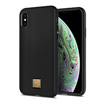 SPIGEN เคส Apple iPhone XS Case Lamnon Classy : Black
