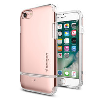 SPIGEN Case Apple iPhone 7 Case Flip Armor - Rose Gold