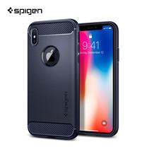 เคส iPhone X SPIGEN Rugged Armor - Midnight Blue