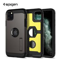 Spigen เคส iPhone 11 Pro Max [TOUGH ARMOR] เคสกันกระแทก, เคสขาตั้ง