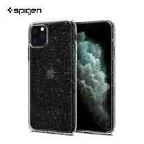 Spigen เคส iPhone 11 Pro Max [LIQUID CRYSTAL GLITTER] เคสใส, เคสบาง, เคสซิลิโคน, เคสกากเพชร