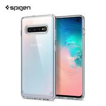 SPIGEN เคส Samsung Galaxy S10 Case Crystal Hybrid : Crystal Clear