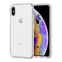 SPIGEN เคส Apple iPhone XR Case Liquid Crystal Glitter : Crystal Quartz