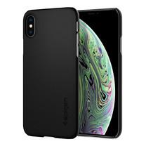 SPIGEN เคส Apple iPhone XS Case  Thin Fit : Black