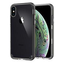 SPIGEN เคส Apple iPhone XR Case Neo Hybrid Crystal : Gunmetal