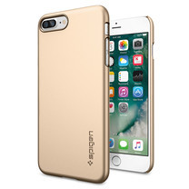 SPIGEN Case Apple iPhone 7 Plus Case Thin Fit - Champagne Gold