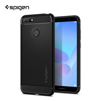เคส Huawei Y6 Prime (2018) SPIGEN Case Rugged Armor - Black