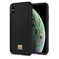 SPIGEN Case iPhone XS Case La Manon Classy : Black