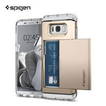 เคส SPIGEN Samsung Galaxy S8 Crystal Wallet - Gold Maple