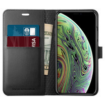 SPIGEN เคส Apple iPhone XS Case Wallet S : Black