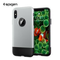 เคส iPhone X SPIGEN Case Limited Edition Classic One - Aluminum Gray