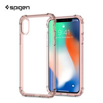 เคส iPhone X SPIGEN Crystal Shell - Rose Crystal