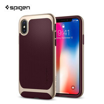 เคส iPhone X SPIGEN Neo Hybrid - Burgundy
