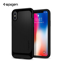 เคส iPhone X SPIGEN Neo Hybrid - Shiny Black