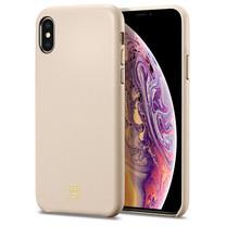 SPiGEN เคส Apple iPhone XS Case La Manon câlin : Pale Pink