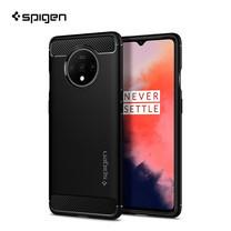 Spigen เคส OnePlus 7T  RUGGED ARMOR (เคสซิลิโคน, เคสบาง, เคสกันกระแทก) - Matte Black