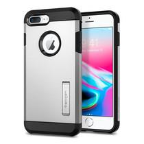 เคส iPhone 8 Plus/ 7 Plus SPIGEN Case Tough Armor 2 - Satin Silver