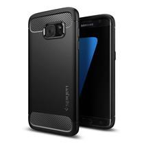 เคส Sumsung Galaxy S7 Edge SPIGEN Rugged Armor - Black