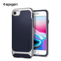 เคส iPhone8/7 SPIGEN Case Neo Hybrid Herringbon - Satin Silver