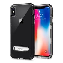 เคส iPhone X SPIGEN Case Crystal Hybrid - Black