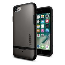 SPIGEN Case Apple iPhone 7 Case Flip Armor - Gunmetal