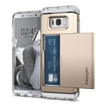 เคส SPIGEN Sumsung Galaxy S8 Crystal Wallet - Gold Maple
