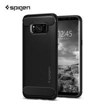 เคส SPIGEN Sumsung Galaxy S8 Plus Rugged Armor - Black