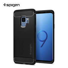 เคส Galaxy S9 SPIGEN Rugged Armor - Matte Black