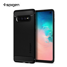 SPIGEN เคส Samsung Galaxy S10 Case Rugged Armor : Black