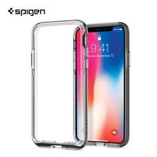เคส iPhone X SPIGEN Case Neo Hybrid EX - Chrome Grey