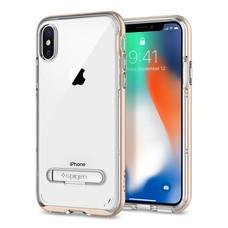 เคส iPhone X SPIGEN Case Crystal Hybrid - Champagne Gold