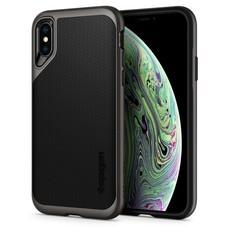 SPIGEN Case Apple iPhone XS Case Neo Hybrid : Gunmetal