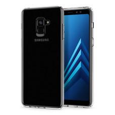 เคส Samsung Galaxy A8+(2018) SPIGEN Liquid Crystal - Crystal Clear