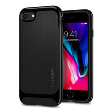 เคส iPhone8/7 SPIGEN Case Neo Hybrid Herringbon - Shiny Black